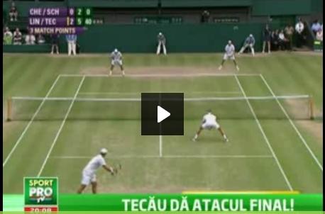 Horia Tecău joacă finala de dublu la Wimbledon